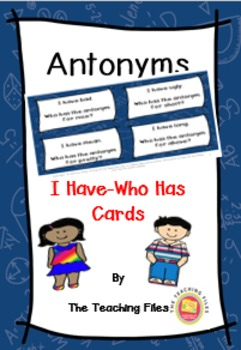I Have-Who Has Cards Mini Packet