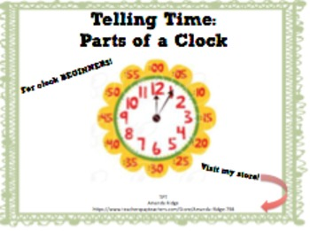 I Have Who Has - Clocks for Beginners!
