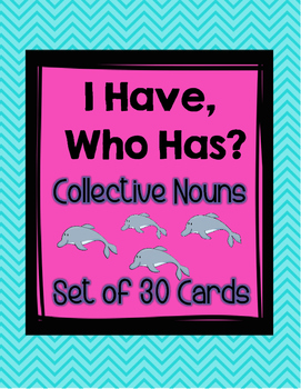 I Have Who Has Collective Nouns