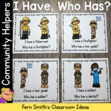 I Have Who Has Game Community Helpers Cards