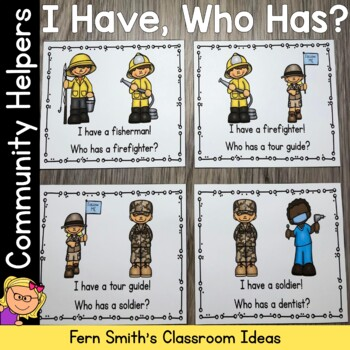 I Have Who Has Game Community Helpers