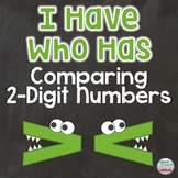 Comparing 2-Digit Numbers I Have Who Has Game