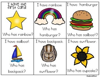 I Have, Who Has? Compound Words