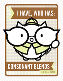 I Have, Who Has: Consonant Blends (/s, r, l/)