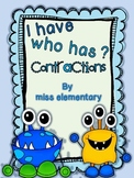 I Have, Who Has? [Contractions]