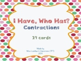 I Have, Who Has? - Contractions