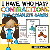 I Have Who Has Contractions | Contraction Word Games