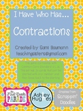 I Have Who Has - Contractions Edition