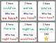Contractions with Have + Let's: I Have... Who Has...?