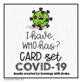 I Have Who Has Coronavirus (COVID19) Card Set Bundle