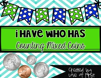 I Have, Who Has Counting Coins