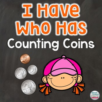 Counting Coins I Have Who Has Game