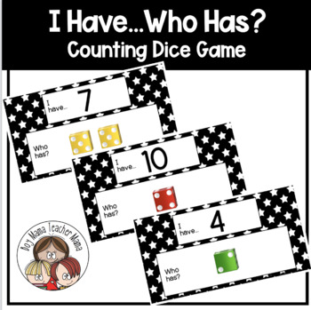 I Have...Who Has? Counting Dice Game