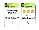 """I Have, Who Has?"" Counting Game (1-20)"