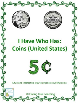 I Have Who Has: Counting United States Coins