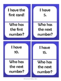 I Have, Who Has: Counting by 5s
