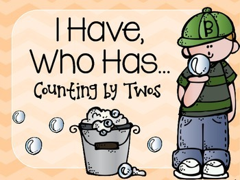 I Have, Who Has Counting by Twos