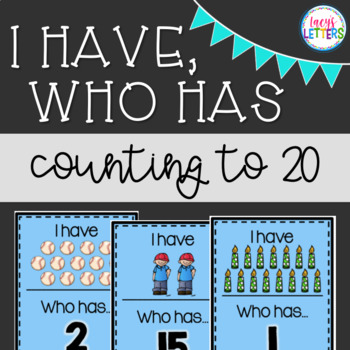 I Have, Who Has - Counting to 20