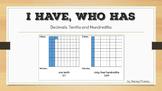 I Have, Who Has: Decimals