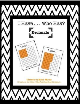 I Have, Who Has? Decimals