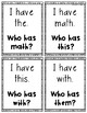 I Have, Who Has - Digraphs