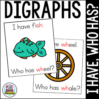 I Have, Who Has? Digraphs