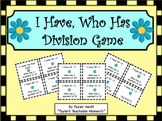 """""""I Have, Who Has"""" Division Game"""
