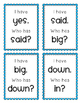 I Have, Who Has? Dolch Pre-Primer Sight Words