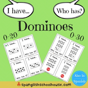 I Have, Who Has Dominoes