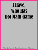 I Have, Who Has Dot Math