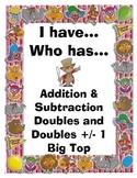I Have. Who Has? Doubles Big Top