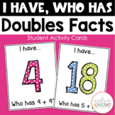 I Have - Who Has Doubles Facts {Small Groups & Math Centers}