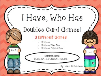 I Have, Who Has Doubles Pack: Doubles, Doubles Plus One &