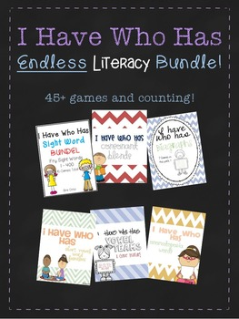I Have Who Has ENDLESS Literacy Bundle
