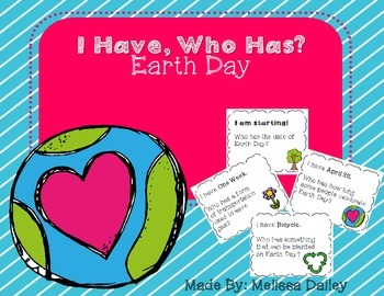 I Have, Who Has Earth Day!