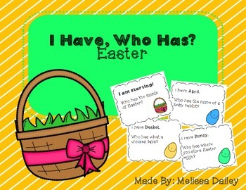 I Have, Who Has Easter!