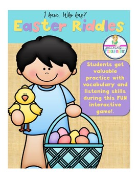 I Have, Who Has?  Easter Riddles Game