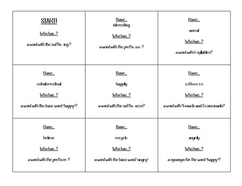 I Have, Who Has: Elements of Word Study
