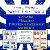 I Have... Who Has... Facts About North America