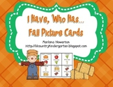 I Have, Who Has? Fall Picture Cards