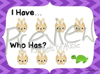 I Have, Who Has? Fast & Slow-Chevron