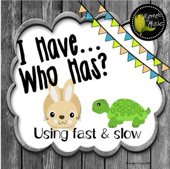 I Have, Who Has? Fast & Slow-Rustic Modern