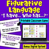 Figurative Language I Have Who Has Game
