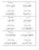 I Have, Who Has: Final Stable Syllable -le