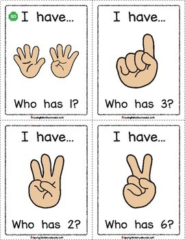 I Have, Who Has Finger Counting