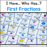 I Have Who Has Fraction Game for Beginners