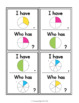 First Fractions Game: I Have... Who Has...?