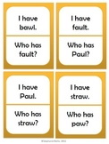 I Have, Who Has: First Grade Treasures Unit 6 Phonics Skills