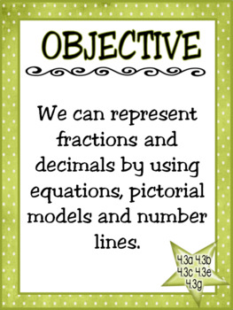 I Have... Who Has...Fraction and Decimals: TEKS 4.3a, 4.3b, 4.3c, 4.3e, 4.3g