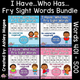 I Have Who Has Fry Words - Fifth 100 Words Bundle (Words 4